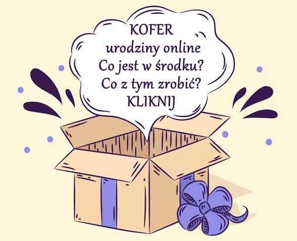 Kofer urodziny online - skład i instrukcja